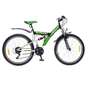"""Велосипед горный Formula Kolt 26"""" 2015 черно-зеленый рама - 18"""""""
