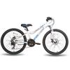 Велосипед подростковый горный Pride Pilot 24'' бело-синий матовый 2015 - фото 1