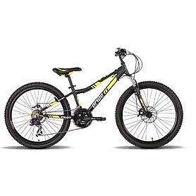Велосипед подростковый Pride Pilot 24'' чёрно-жёлтый матовый 2015