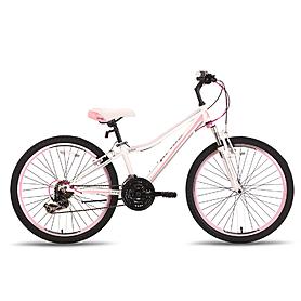 """Велосипед подростковый Pride Lanny 24"""" бело-розовый матовый 2015"""