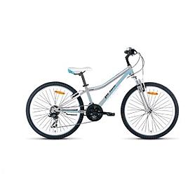 """Велосипед подростковый Pride Lanny 24"""" серо-бирюзовый матовый 2015"""