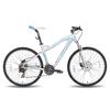 Велосипед горный женский Pride Bianca серо-бирюзовый матовый 2015 Disc рама - 18