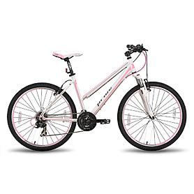 Фото 1 к товару Велосипед горный женский Pride Stella 26'' бело-розовый матовый 2015 рама - 18
