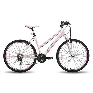 Велосипед горный женский Pride Stella 26'' бело-розовый матовый 2015 рама - 18