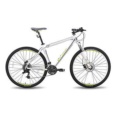 Велосипед горный Pride XC-26 MD 26'' бело-зелёный матовый 2015 рама - 17