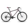 Велосипед универсальный Pride Cross 1.0 28'' серо-красный матовый 2015  рама - 21