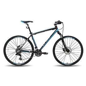 Фото 1 к товару Велосипед универсальный Pride Cross 2.0 28'' чёрно-синий матовый 2015  рама - 21