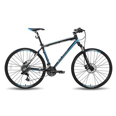 Велосипед универсальный Pride Cross 2.0 28'' чёрно-синий матовый 2015  рама - 21