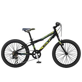 """Велосипед подростковый GT Aggressor boys 20"""" 2015 black"""