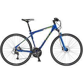 Велосипед горный GT Transeo 2.0 28 2015 синий, рама - M
