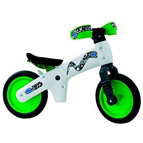 """Беговел детский Bellelli B-Bip Pl 12"""" бело-зеленый"""