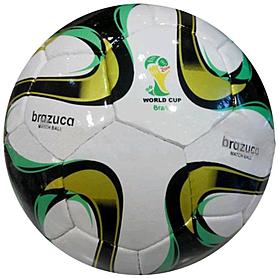 Фото 1 к товару Мяч футбольный Adidas Brazuca реплика