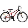 Велосипед детский Avanti Dakar 24 красно-черный - фото 1