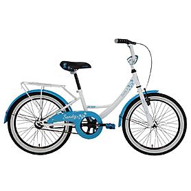 """Велосипед детский 20"""" Pride Sandy бело-голубой"""