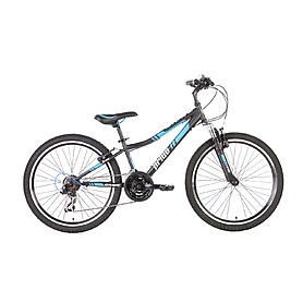 "Велосипед детский 24"" Pride Brave черно-синий"