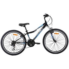 "Велосипед детский Pride Brave 24"" 2013 черно-синий"