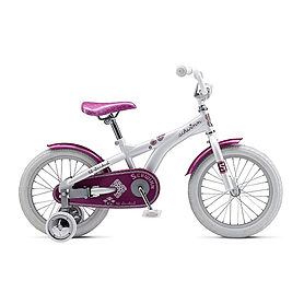 "Велосипед детский 16"" Schwinn Lil Stardust Girls 2013 white-blue"