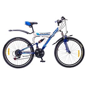 """Велосипед подростковый Formula Kolt 24"""" 2015 бело-синий рама - 16"""""""