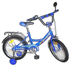 "Велосипед детский Profi 18"" синий"