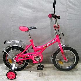 """Велосипед детский Profi 14"""" розовый"""