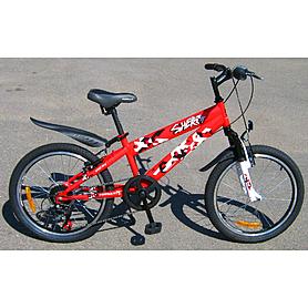 """Велосипед детский Formula Sherif AM 20"""" модель 2013 года, цвет красный"""