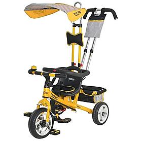 Велосипед детский Profi Trike Eva Foam желтый