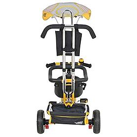 Фото 2 к товару Велосипед детский Profi Trike Eva Foam желтый