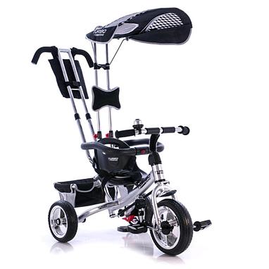 Велосипед детский Profi Trike Eva Foam серебристый