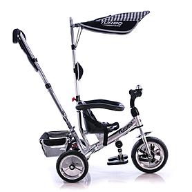 Фото 2 к товару Велосипед детский Profi Trike Eva Foam серебристый