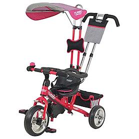 Фото 1 к товару Велосипед детский Profi Trike Eva Foam перламутрово-розовый