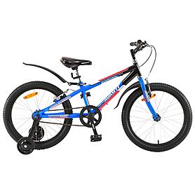 """Велосипед детский 20"""" Avanti Super Boy 1SPD сине-оранжевый"""