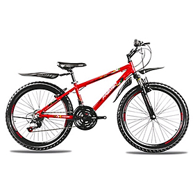 Велосипед горный подростковый Premier XC 24 2014 24'' красно-черный + подарок