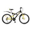 Велосипед подростковый горный Avanti Pirate Disk 24 черный - фото 1