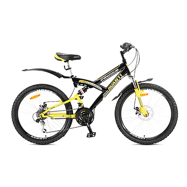 Велосипед подростковый горный Avanti Pirate Disk 24 черный