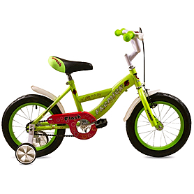 """Велосипед детский Premier Flash 14"""" салатовый"""