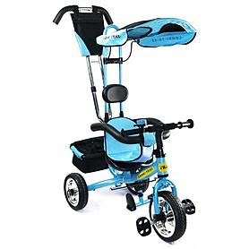 Фото 1 к товару Велосипед детский трехколесный Baby Tilly Combi Trike BT-CT-0002 Blue