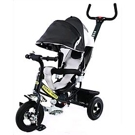 Велосипед детский трехколесный Baby Tilly Combi Trike BT-CT-0015 Black