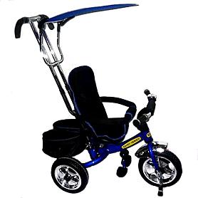 Фото 1 к товару Велосипед детский трехколесный Baby Tilly Combi Trike BT-TC-609 (BT-CT-0011) Blue