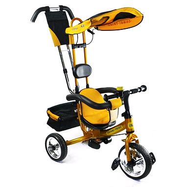 Велосипед детский трехколесный Baby Tilly Combi Trike BT-CT-0002 Gold