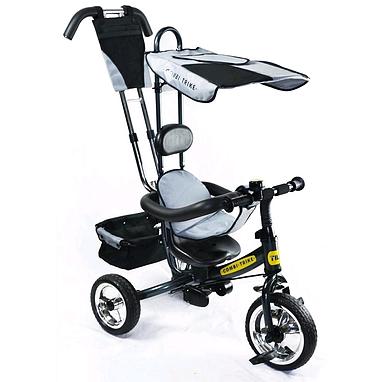Велосипед детский трехколесный Baby Tilly Combi Trike BT-CT-0002 Grey