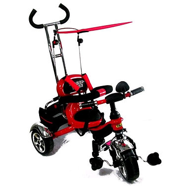 Велосипед детский трехколесный Baby Tilly Combi Trike BT-CT-0012 Red
