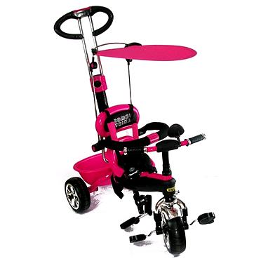 Велосипед детский трехколесный Baby Tilly Combi Trike BT-CT-0013 Raspberry