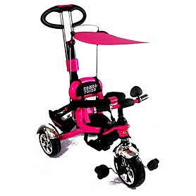 Велосипед детский трехколесный Baby Tilly Combi Trike BT-CT-0014 Raspberry
