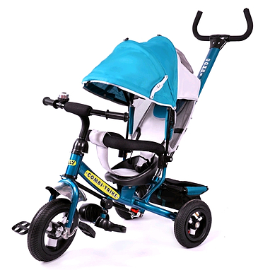 Велосипед детский трехколесный Baby Tilly Combi Trike BT-CT-0015 Dark Green