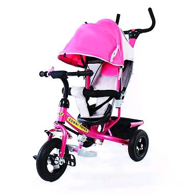 Велосипед детский трехколесный Baby Tilly Combi Trike BT-CT-0015 Pink