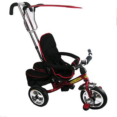 Велосипед детский трехколесный Baby Tilly Combi Trike BT-TC-609 (BT-CT-0011) Red