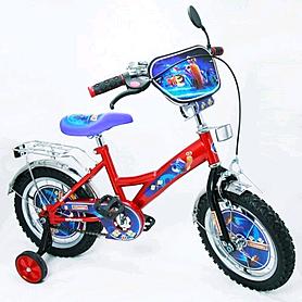 """Велосипед детский Baby Tilly Турбо 14"""" BT-CB-0002 красный"""