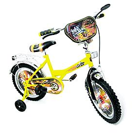 """Велосипед детский Baby Tilly Хот Вилс 16"""" BT-CB-0011 желтый"""