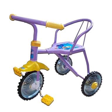 Велосипед детский трехколесный Baby Tilly BT-007CP желтый, фиолетовый, голубой, красный