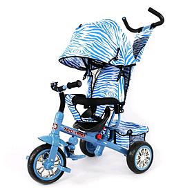 Велосипед детский трехколесный Baby Tilly Blue Zoo-Trike BT-CT-0005 Blue